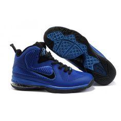 Nike Lebron 9 Royal Blue Varsity Black G06059 All Lebron James Shoes 475c0e1af