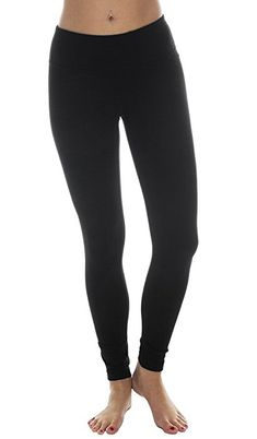 90 Degree by Reflex Power Flex Yoga Pants - Black - Medium