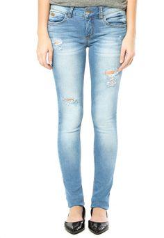 Calça Jeans Colcci Skinny Azul - Compre Agora | Dafiti Brasil