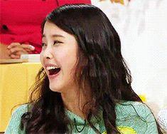 IU Lee Jieun Laughing Cutie GIF
