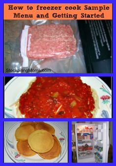 How to Freezer Cook – Sample Menu and Getting Started