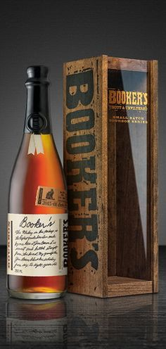 """Beam Suntory is releasing a series of limited edition Bourbon's celebrating founding distiller Booker Noe's legacy as the """"father"""" of small-batch Bourbon. Bourbon Whiskey, Good Whiskey, Cigars And Whiskey, Top 10 Bourbons, Best Bourbons, Beer Bottle, Whiskey Bottle, Bourbon Brands, Wine Pairings"""