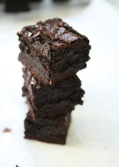 """These are seriously the best brownies I've tasted!   Rating: 5/5 (BTW 141 g butter = 10 tbsp)  I double the recipe, add 1 tsp of baking powder (1/2 tsp for a single batch) and bake in a 9"""" x 13"""" pan."""