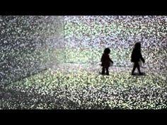 TITULO DE LA OBRA:Holistic strata  ARTISTA:  Hiroaki Umeda COMENTARIO: artista japones que trabaja de manera multidisciplinario en danza, instalación, tecnologías y medios digitales en sus obras artísticas.