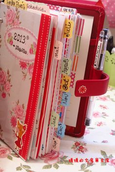 little raven ink: Inspiration Tuesday - The Filofax obsession!