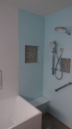Nuance Laminate Panelling Is An Ideal Alternative To Tiling There - Alternative to tiles in shower cubicle