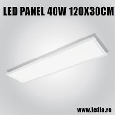 Panou LED panel 40w 4000k 120x30 cm