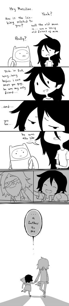Marceline and the ice king