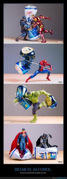 La mejor forma para dejar el alcohol - Ahora los superhéroes te ayudan con ello   Gracias a http://www.cuantarazon.com/   Si quieres leer la noticia completa visita: http://www.skylight-imagen.com/la-mejor-forma-para-dejar-el-alcohol-ahora-los-superheroes-te-ayudan-con-ello/