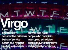 Virgo Loves & Hates
