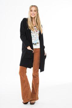 www.livingdoll.la junior & plus size clothes // Just Like Stevie Ponti Coat
