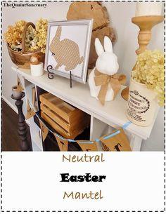.: { Neutral Easter Mantel!! }