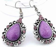 Hey, I found this really awesome Etsy listing at https://www.etsy.com/listing/195511147/silver-exquisite-purple-beaded-and