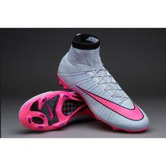 huge discount e5b4b 4e028 ... New Nike Mercurial Superfly FG Wolf Gris Hyper Rosado Negro Botas De  Futbol ...
