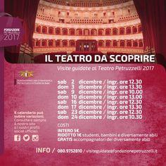 Visite guidate alla scoperta del Teatro Petruzzelli