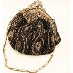 Drop Dead Gorgeous Very Vintage Beaded Evening Bag Handbag with from easterbelles-emporium on Ruby Lane