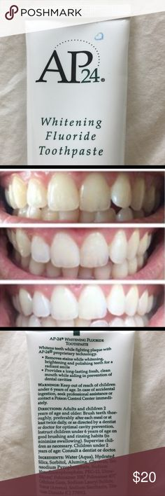 AMAZING whitening toothpaste! Do you want whiter teeth?  This is the most amazing product - its peroxide and bleach FREE, it's safe for kids, pregnant women, sensitive teeth - everyone! Most people only have to wait 4-7 days for amazing results! Comment if you have more questions! Other