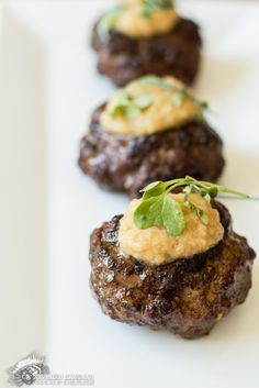 Smoky Burgers with Pineapple Teriyaki Sauce | Civilized Caveman Cooking Creations