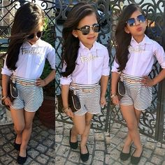 kids fashion #girl love this outfit except for the necklace
