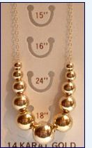 Add a bead necklace - I'm looking for one of these!