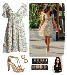 """Gabriella Montez"" by sapnu2015 ❤ liked on Polyvore featuring moda, Tory Burch, Kendra Scott e Forever 21"