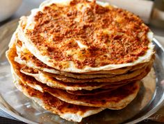 Homemade Lahmacun