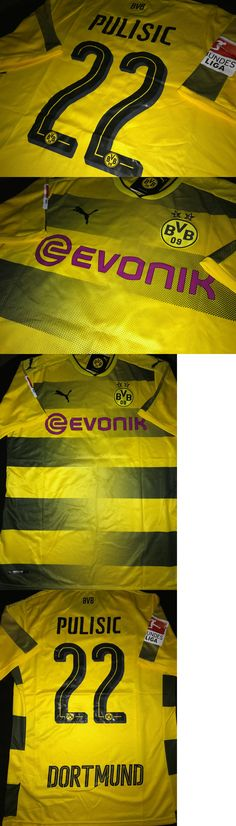 Men 123490: Borussia Dortmund Official 17 18 Pulisic Jersey Size S, M , L Or Xl *20% Off -> BUY IT NOW ONLY: $59.99 on eBay!