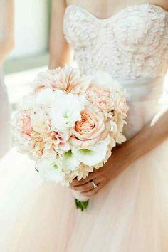 Bouquet rosa pesca - 1