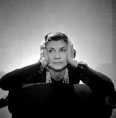 Coco Chanel Photographie de Boris Lipnitzki & Roger Viollet. Paris 1936