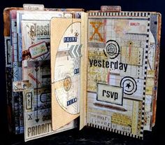 art journal from The Altered Page