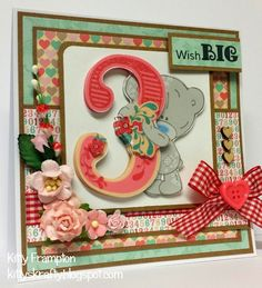 Made for Making Cards Magazine by Kitty Frampton using Me To You Tiny Tatty Teddy Collection.