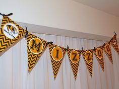 Missouri Tigers Banner Black and Gold #UltimateTailgate #Fanatics Yes!!! And I'm pretty sure I can make this one too!!