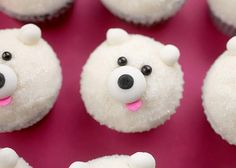 Mini Polar Bear Cupcake by Bakerella