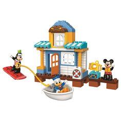 LEGO® DUPLO® Casa de pe plaja a lui Mickey si prietenii 10827