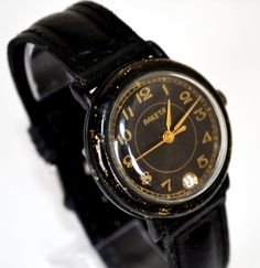Hey, I found this really awesome Etsy listing at https://www.etsy.com/listing/224806588/mens-black-watch-vintage-collectibles