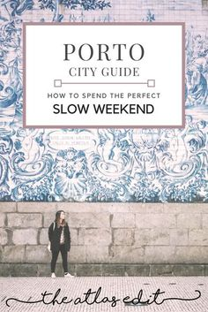 Porto is where Portugal offers its best food, wine, architecture, and sunsets without being overrun by tourists. If this sounds like your cup of tea, then follow along on this Porto City Guide on how to spend the perfect slow weekend in Porto. Things to do in Porto.