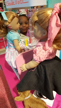 Our American Girl Doll Maryellen got Hearing Aids in both ears today!!!!! #beforevermaryellen #beforever #joy2everygirl