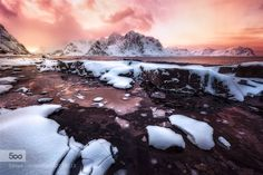 Freezing Light - Pinned by Mak Khalaf Taken with the LucrOit 165 system using a GND Hitech filter of 2 stops. Check out the photo in HD: Freezing Light and follow me in my Facebook page If you want more information about our arctic photographic trips:  Islandia  Lofoten Landscapes beachhieloicejavierdlt.comjavierdlt.eslofotenlucroitnievenorueganorwayplayasnowvareid by JavierLt