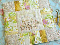 Home Embroidery Square, via Flickr.