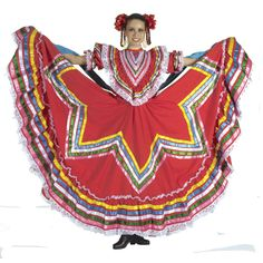 vestidos folkloricos jalisco - Google Search