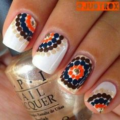 Nail Art Ideas For Autumn / Winter 2015