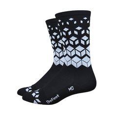 "DeFeet Aireator On The Rocks 6"" Socks   Cycling Socks"