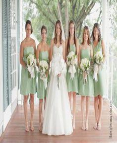 lime gree bridesmaid dresses 2 Lime green bridesmaid dresses freshen up the wedding