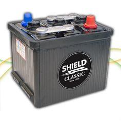 Type 404 6v Classic & Vintage Car Battery www.batterycharged.co.uk/shop/brands/shield-batteries/6v-classic-car-batteries/shield-404-6v-classic-car-ba-1050033.html