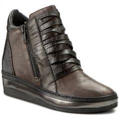 Sneakersy KHRIO - 162K4006RCSLQ Pietra/Argento/Fucile