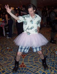I loved that movie! Ace Ventura in a Tutu   101 Halloween Costume Ideas for Women