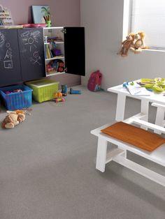 Novilon Structura 1933 Melange  Marmoleum from Livingreen  Fun play room. easy care too!