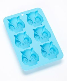 Look what I found on #zulily! Blue Shape & Bake Mini Owl Cake Mold by DCI #zulilyfinds