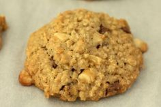 Cookies aux flocons d'avoine et à la pomme  Testé : très bon mais manque un peu de sucre résultat assez moelleux