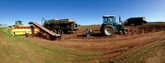 From fertilizer trucks, loaders, planters, conveyor belts there is a lot that goes into planting the best spuds in PEI.